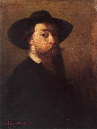 Adolphe Joseph Thomas Monticelli - Selfportrait