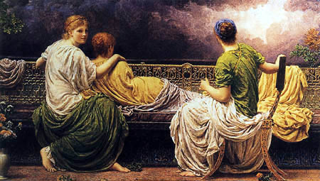 Albert Joseph Moore - The birth of the light