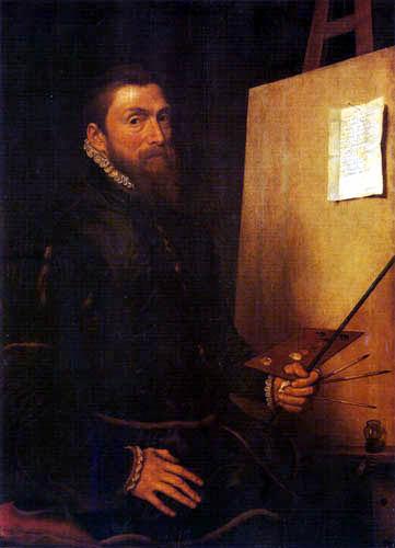 Anthonis (Moro, Antonio) Mor - Selfportrait