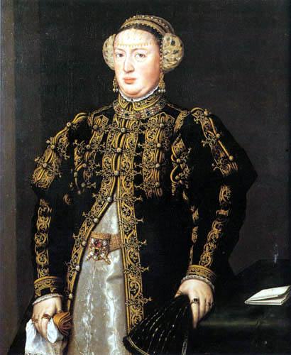 Anthonis (Moro, Antonio) Mor - Katharina von Österreich