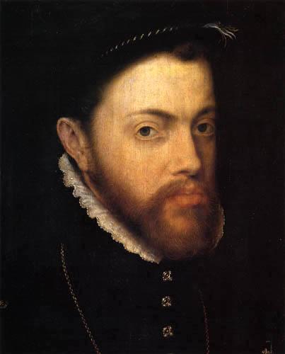 Anthonis (Moro, Antonio) Mor - Portrait of Philipp II