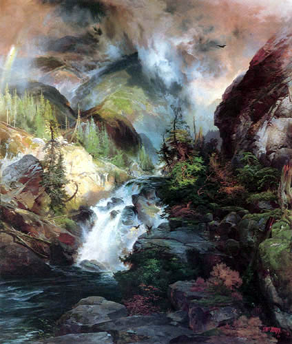 Thomas Moran - Children of the Mountain