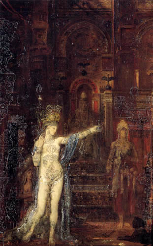Gustave Moreau - The dancing Salome