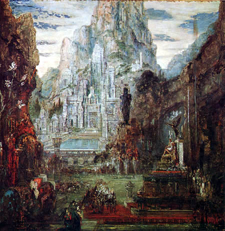 Gustave Moreau - Der Triumph Alexanders des Großen