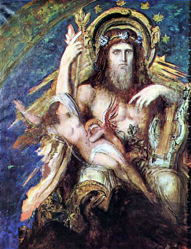Gustave Moreau - Jupiter and Semele