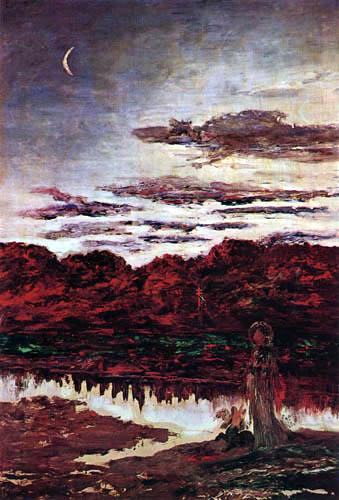 Gustave Moreau - La tentación