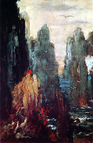 Gustave Moreau - Sirenas