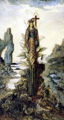Gustave Moreau - Flor místico