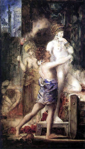 Gustave Moreau - Messalina
