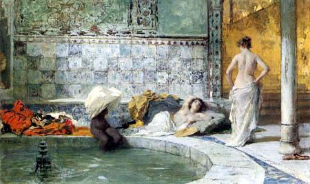 Domenico Morelli - Bath turc