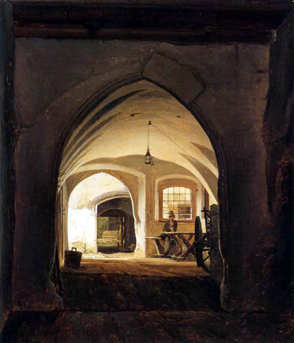 Christian Morgenstern - An Entrance Gate to a House in Partenkirchen