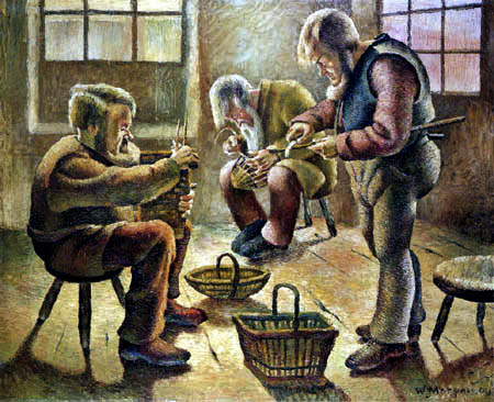Wilhelm Morgner - Basketmakers