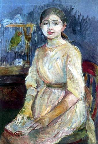 Berthe Morisot - Portrait of Julie Manet