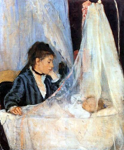 Berthe Morisot - Die Wiege