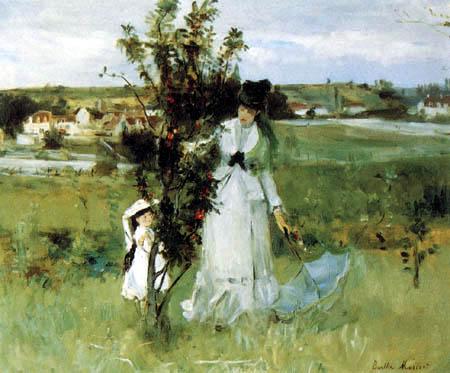 Berthe Morisot - Playing hide-and-seek