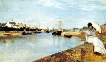 Berthe Morisot - The Harbor of Lorient
