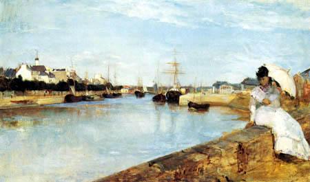 Berthe Morisot - Der Hafen von Lorient