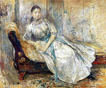 Berthe Morisot - Madame Albine Sermicolo