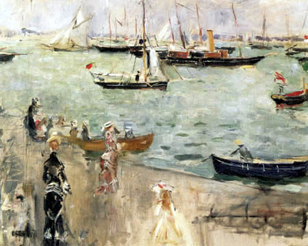 Berthe Morisot - Im Hafen