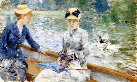 Berthe Morisot - Boat trip, a summerday