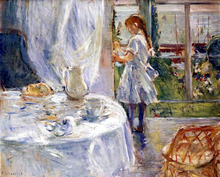 Berthe Morisot - Girl in the dining-room