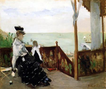 Berthe Morisot - In einer Villa an der See