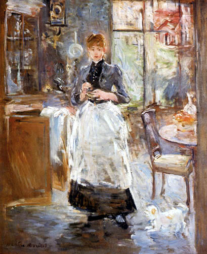 Berthe Morisot - In the dining room