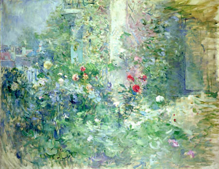Berthe Morisot - Garden in Bougival