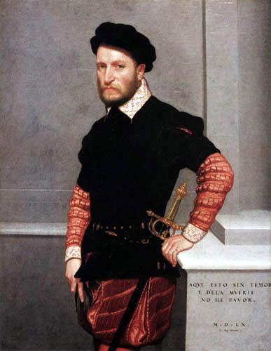 Giovanni Battista Moroni - Don Gabriel de la Cueva de Alburquerque