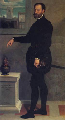 Giovanni Battista Moroni - Earl Secco Suardo