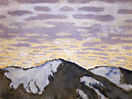 Koloman Moser - Mount Peaks