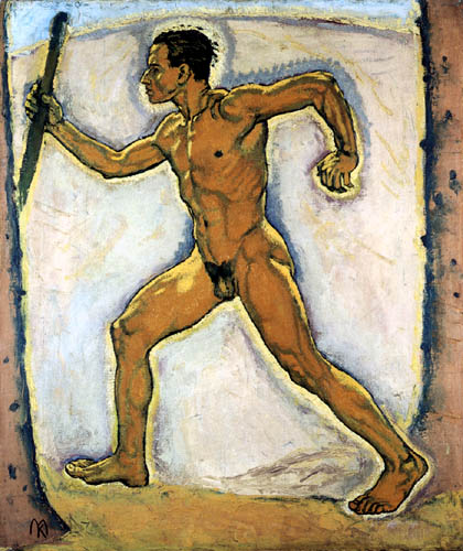 Koloman Moser - The Wanderer