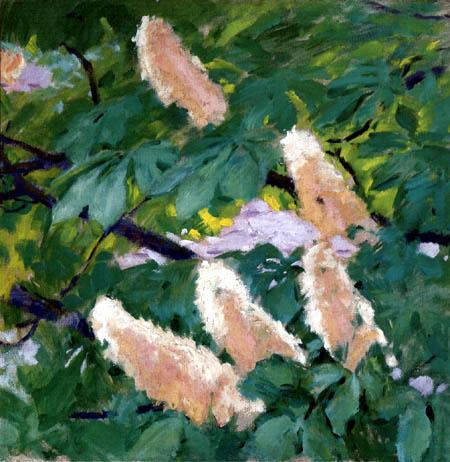 Koloman Moser - Blooming Chestnut