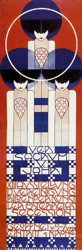 Koloman Moser - Plakat für die XIII Ausstellung der Wiener Secession
