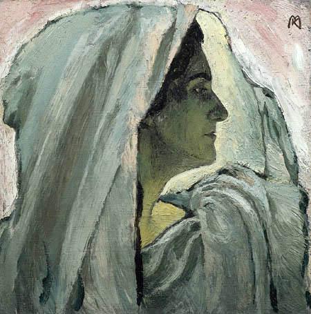 Koloman Moser - Portrait of Anna Bahr-Mildenburg