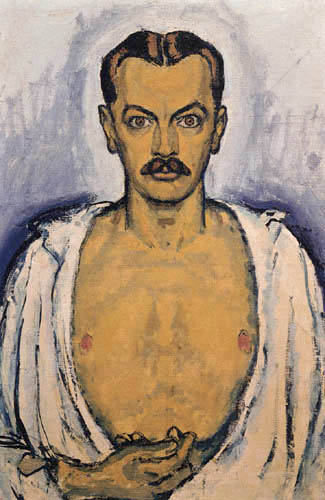Koloman Moser - Self-portrait