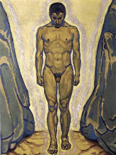 Koloman Moser - Young Man Standing