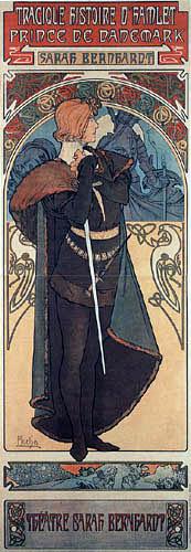 Alfons Maria Mucha - Hamlet