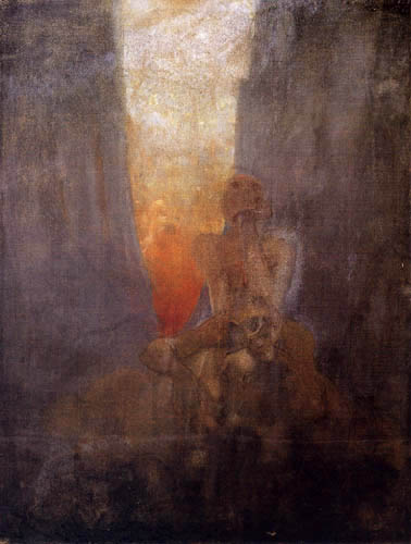 Alfons Maria Mucha - Abyss