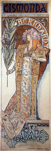 Alfons Maria Mucha - Gismonda