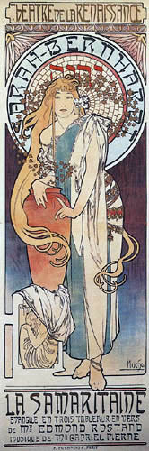 Alfons Maria Mucha - La Samaritaine