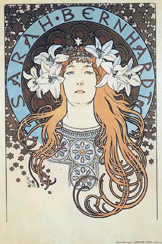 Alfons Maria Mucha - Sarah Bernhardt