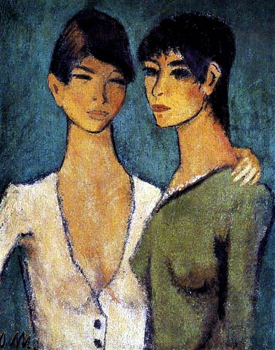 Otto Mueller - Two sisters
