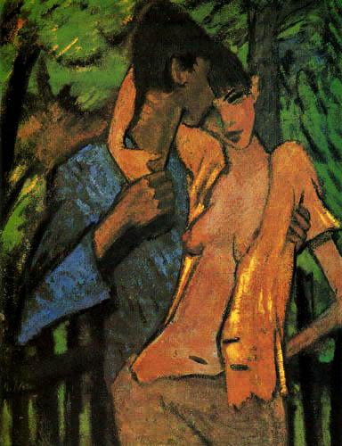 Otto Mueller - Lovers
