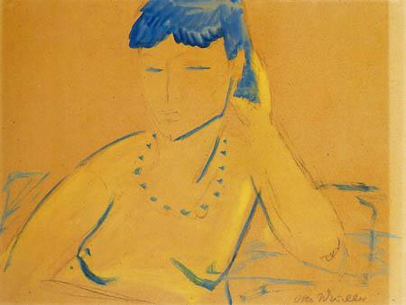 Otto Mueller - Junges Mädchen