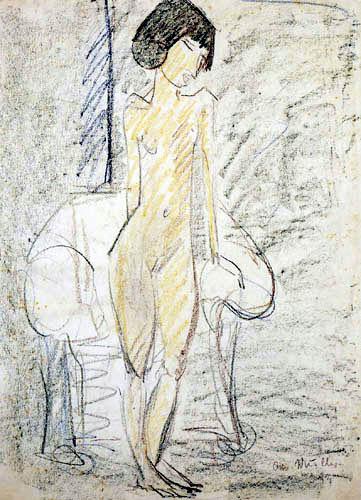 Otto Mueller - Female act