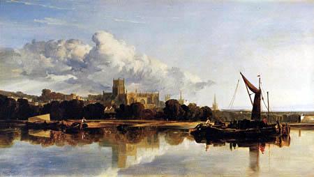 William James Muller - Die Kathedrale von Bristol
