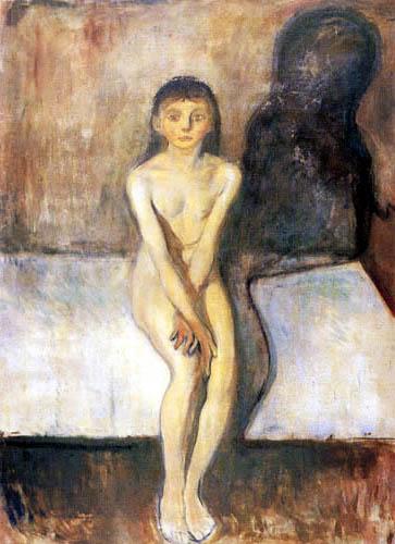 Edvard Munch - Puberty