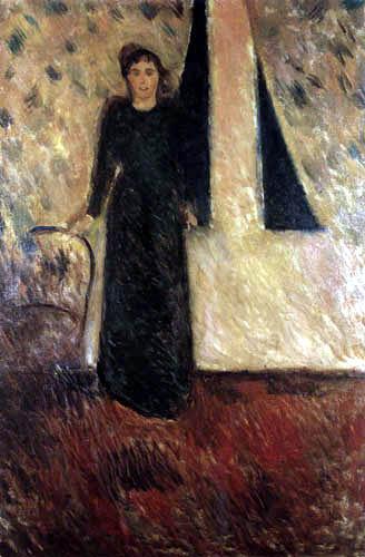 Edvard Munch - Alexandra Thaulow