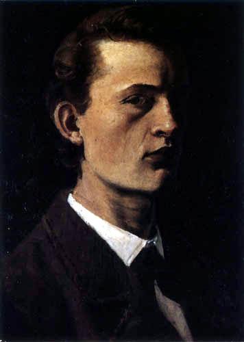 Edvard Munch - Autoportrait